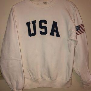 USA Crew Neck Sweatshirt